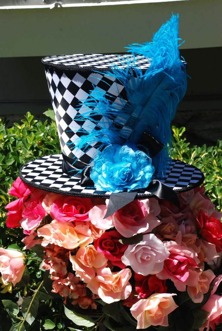 99 best themed events images on pinterest party props for Mad hatter party props