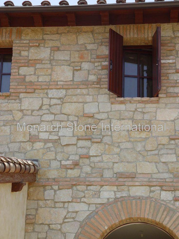 American limestone texas limestone veneer antique used for American brick and stone