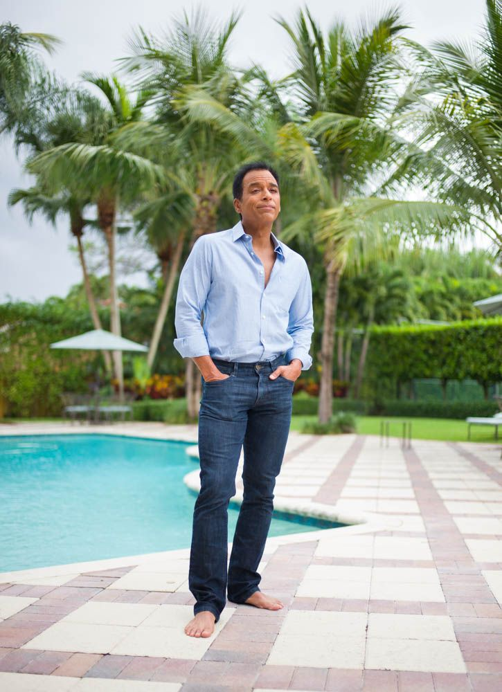 Jon Secada photographed by Phil Penman with the Leica M