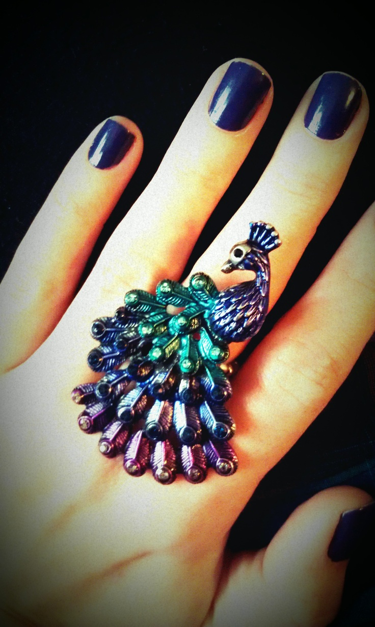 Quot I Wanna See Your Peacock Ring Quot Peacock Addiction