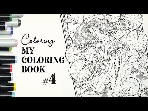 Volha Sakovich Youtube In 2021 Coloring Books Color Me Color
