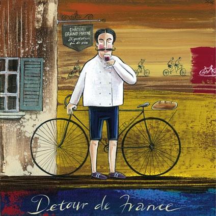 'etour d'France' by Frans Groenewald