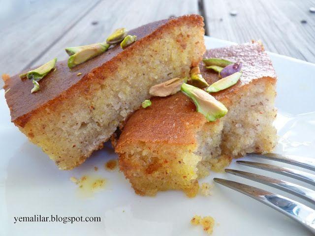 آشپزخانه کوچک من: کیک باقلوا-ravani