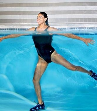 Thinner Thighs | Pool Exercises