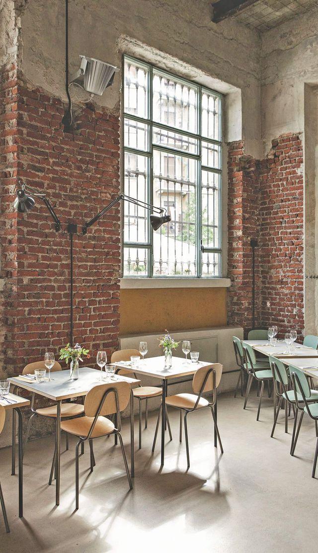 Restaurant Un posto a Milano. Milan.