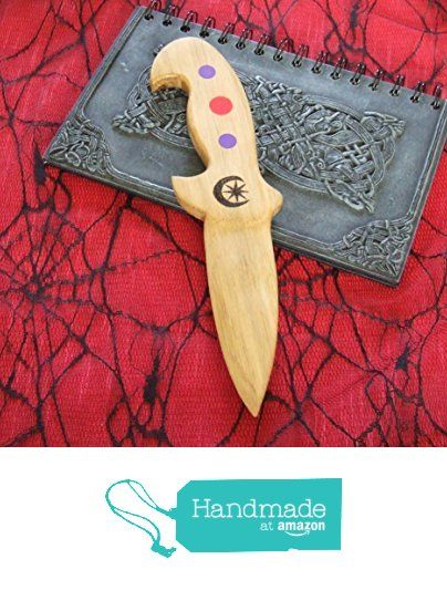 Wiccan, Pagan witches athame, handmade. from A Burning Ambition https://www.amazon.co.uk/dp/B06XKS32F7/ref=hnd_sw_r_pi_dp_yMr.ybAK6WJK6 #handmadeatamazon