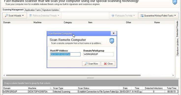Το EMCO Malware Destroyer ένα πρόγραμμα που θα σας βοηθήσει στην κατάργηση κακόβουλου λογισμικού από τον υπολογιστή σας. Το πρόγραμμα έχει μία σύγχρονη και πολύ γρήγορη μηχανή ανίχνευσης σαρώνει ολόκληρο το σύστημά σας εντοπίζοντας και καταργώντας τους περισσότερους τύπους malware adware trojans worms spyware και dialers. Χαρακτηριστικό του γνώρισμα είναι η γρήγορη σάρωση στις περισσότερες περιπτώσεις είναι λιγότερο από λεπτό και μπορεί να αναπροσαρμόσει τους ορισμούς ιών και άλλων απειλών…