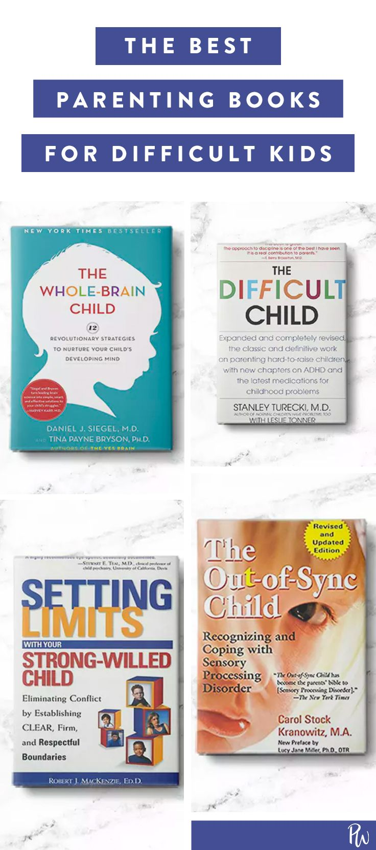 Here are the very best parenting books for dealing with a difficult child. #difficultchild #parentingadvice #parenting #goodparent #parentingbooks