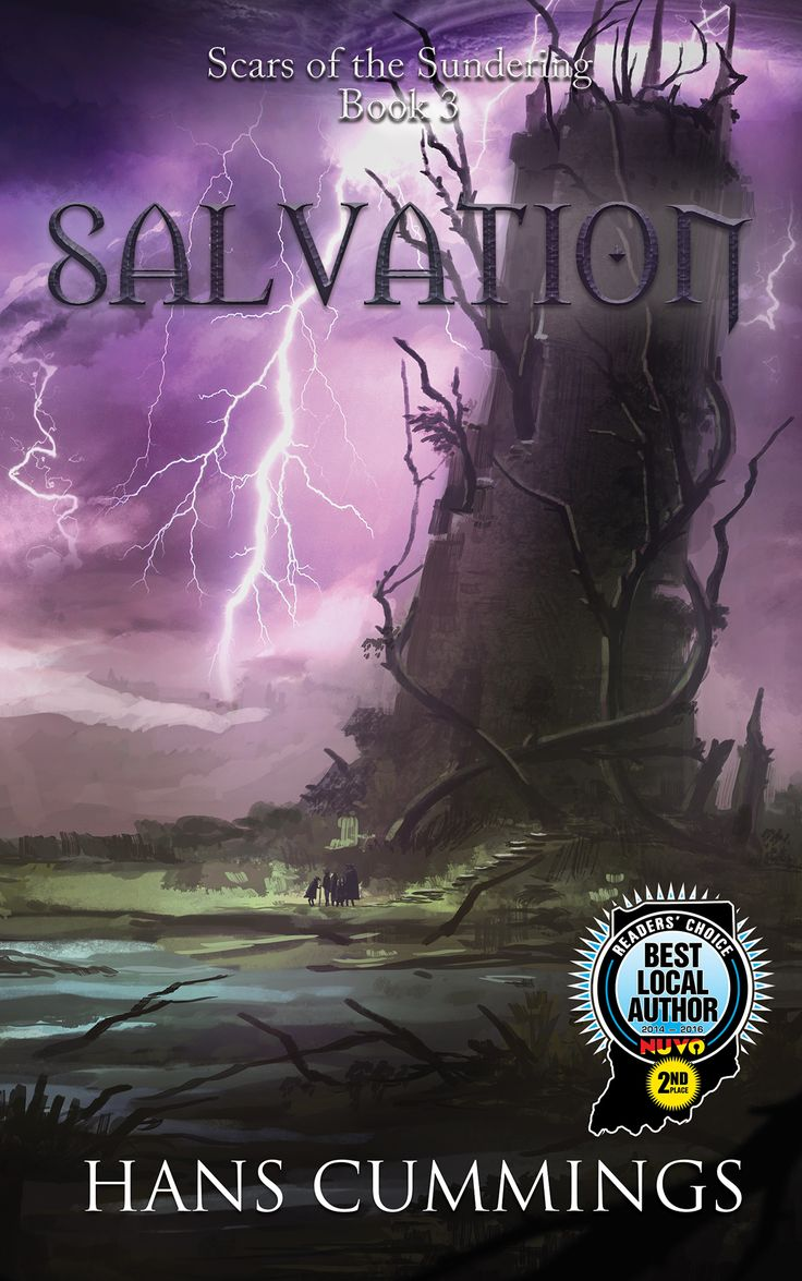 Scars of the Sundering: Salvation original art by Lily Yang design by Eric Hubbel