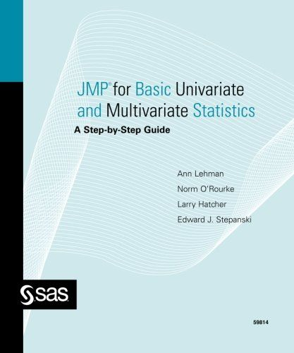 Download free JMP for Basic Univariate and Multivariate Statistics: A Step-by-step Guide pdf