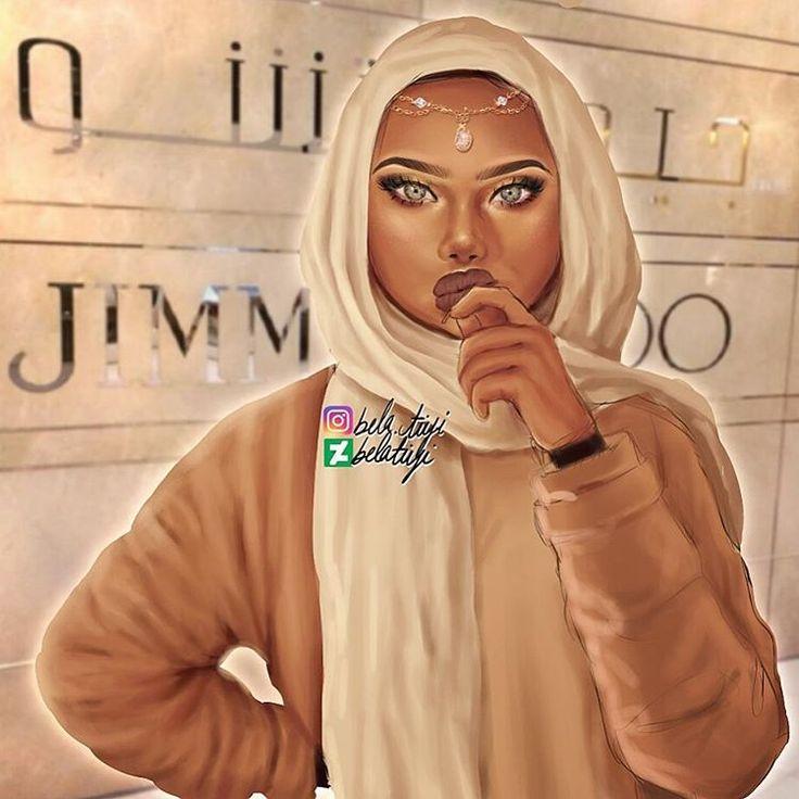 Thank you to the 4k of you loves #muslim #muslimah #art #digitalart #digitalillustration #portrait #eyes #artist #draw #drawing #drawings #sketch #disney #muslimahfashion #illustration #dope #hijab #instaart #belatiyi