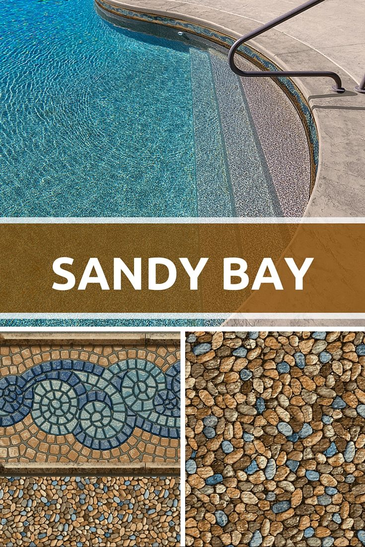 Today's 2016 pattern preview is Sandy Bay, which is taking the place of our popular Mayan pattern. The dynamic new tile design combines cool blues and teals with warm sand colors that will complement many different types of deck and surroundings. The new pebble floor is amazingly realistic and will be available in our SureStep material. There's more beautiful patterns to come. Check back regularly to see what's in store! ‪‎taraliners‬ ‪2016collection‬ ‪‎newpatterns‬