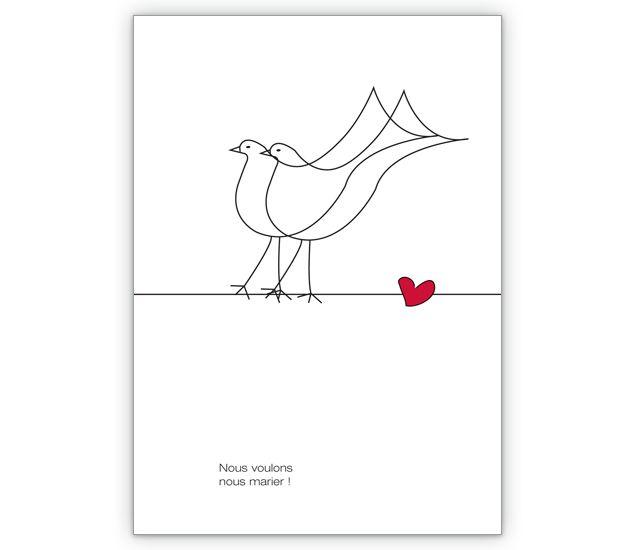 Franz. Hochzeits Anzeigenkarte mit romantischen Tauben - http://www.1agrusskarten.de/shop/franz-hochzeits-anzeigenkarte-mit-romantischen-tauben/    00012_0_2233, Anzeige, Einladung, Feiern, Grußkarte, heiraten, Helga Bühler, Hochzeit, Klappkarte, Party Einladungen00012_0_2233, Anzeige, Einladung, Feiern, Grußkarte, heiraten, Helga Bühler, Hochzeit, Klappkarte, Party Einladungen