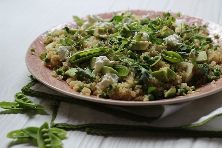 Herbed Quinoa Salad by my fab friend Sarah Graham. See more at www.afoodieliveshere.co.za.