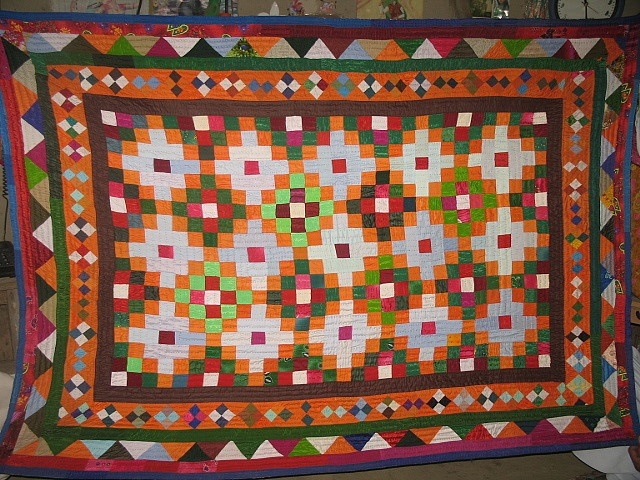 Patchwork ralli quilt by Ralli quilts, via Flickr