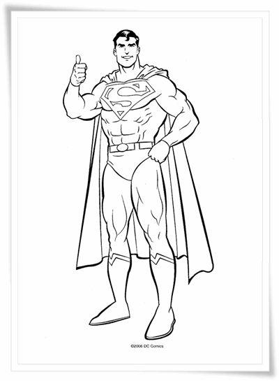 superman ausmalbilder  ausmalbilder für kinder