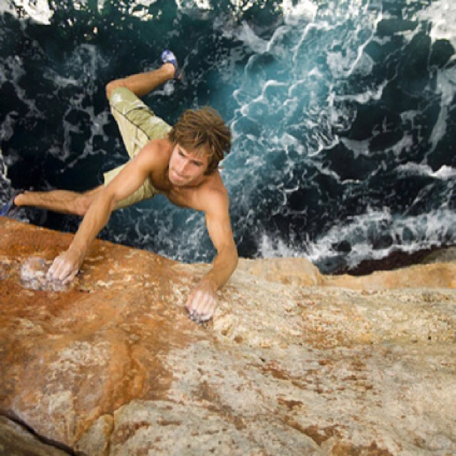 Chris Sharma from King Lines oh yeah!!!