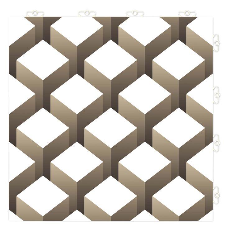 TOP TILE Design: Cube www.bergoflooring.com