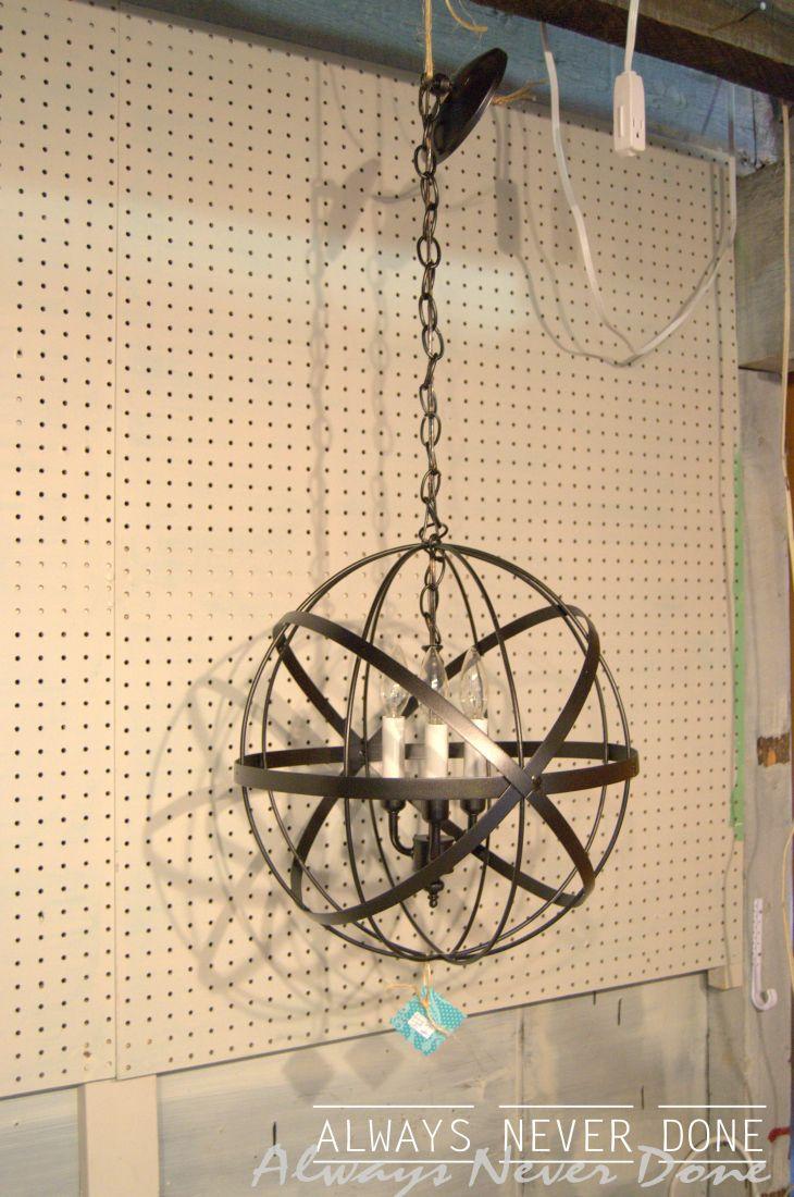 Fantastic pendant light - wish I was that creative!
