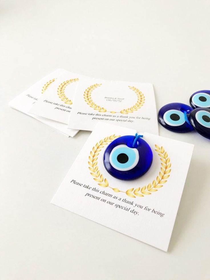 Greek wedding favors, blue evil eye beads, turkish…