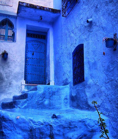 azure blue...
