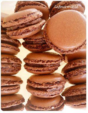 macaron chocolat michalak