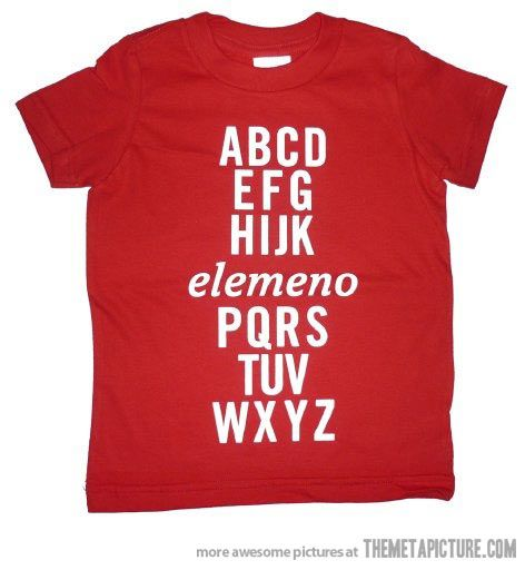 :)    This would be cute (and humorous) for a Kindergarten or pre-school teacher to wear to school. :)