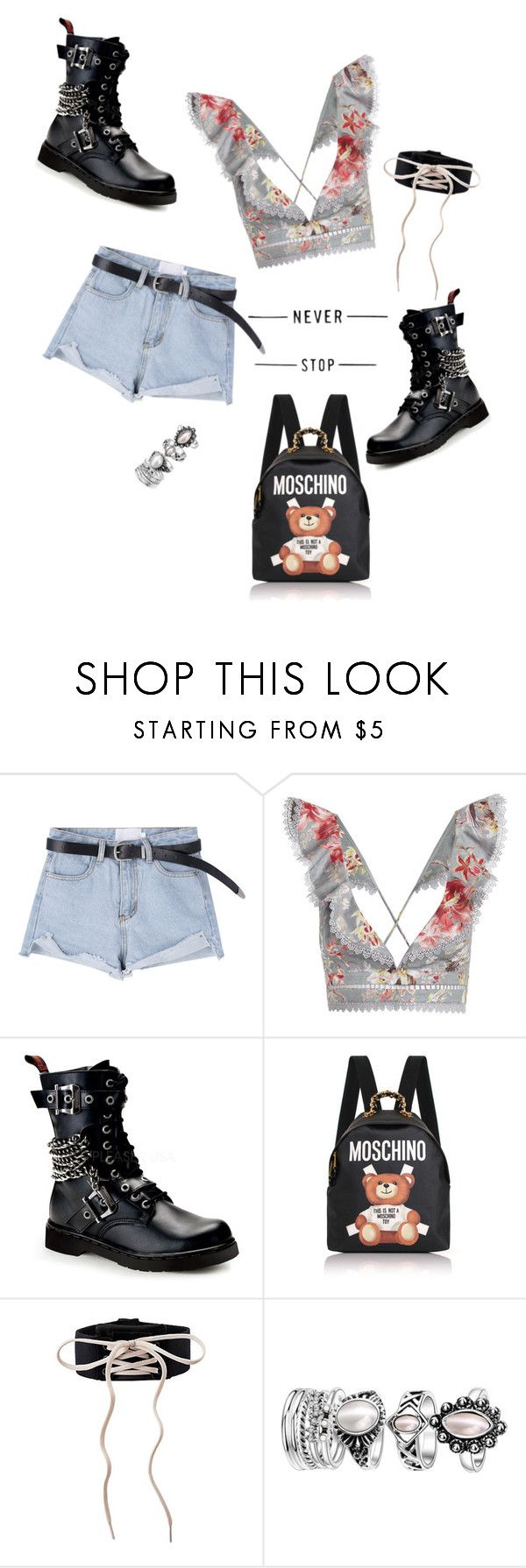 """For #coachelle!!!!!!"" by joe-khulan on Polyvore featuring Zimmermann, Demonia and Moschino"