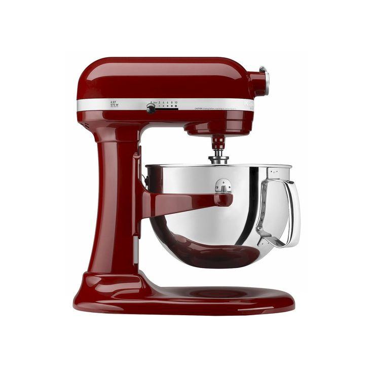 KitchenAid Professional 600 Series 6-Quart Bowl-Lift Stand Mixer - KP26M1X, Red