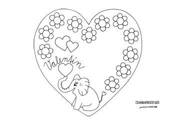 Srdiečko ako darček - Aktivity pre deti, pracovné listy, online testy a iné