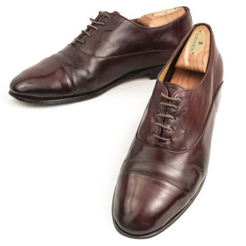 Cap toe dress shoes paragon hand crafted oxfords lace up dress mens 9