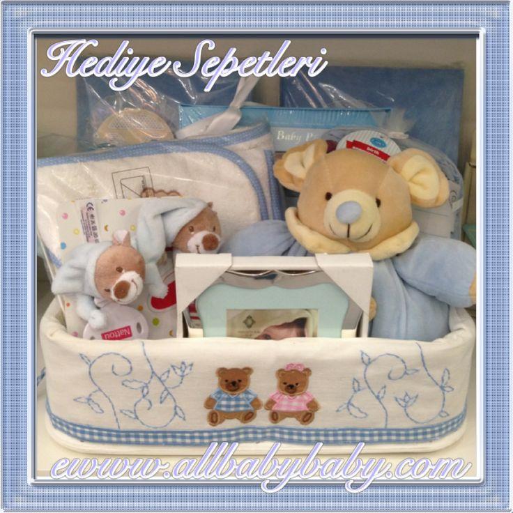Bebek hediye sepetleri