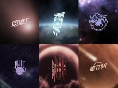 Astronomy Logos