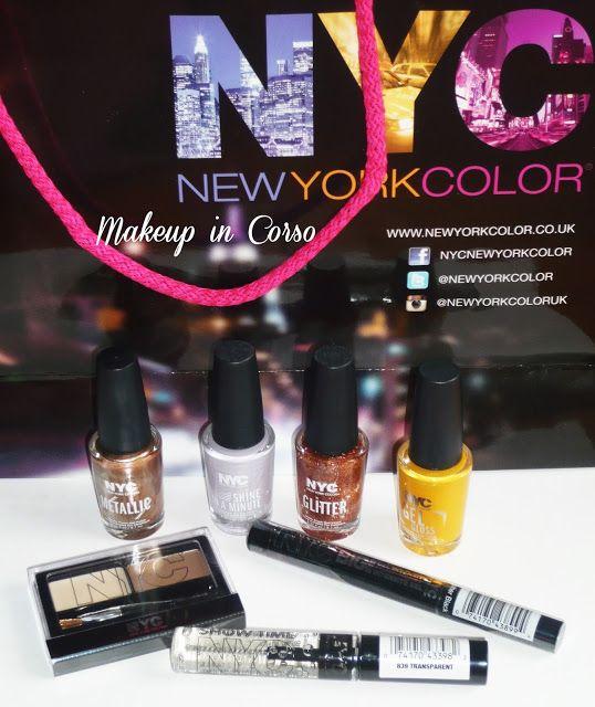 Makeup in Corso: Novità make-up occhi NYC New York Color