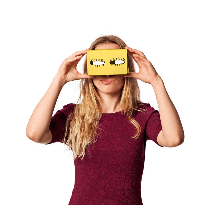 Dash over to www.flyingtiger.com/VR on your mobile browser and race to the virtual finish line. Cardboard Virtual Reality glasses in our own design. £3