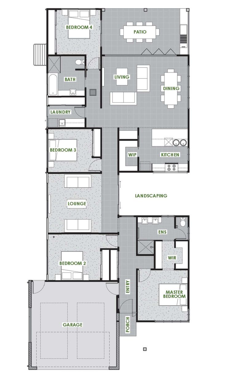 Tasman Floor Plan   Green Homes Australia