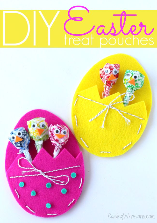 DIY Craft: DIY Easter treat bags craft for kids