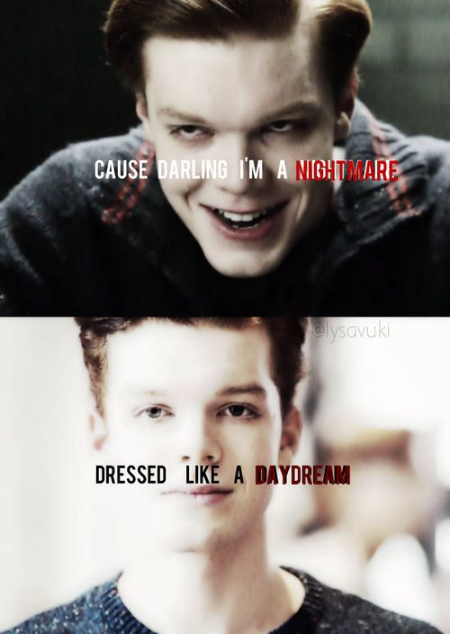 blank space, jerome valeska, and Gotham image