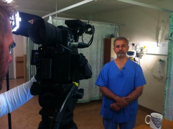 Interviews with the dedicated team of the endoscopy ward