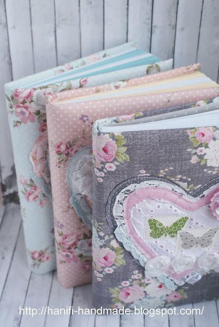 "Hanifi handmade: Блокноты сердечные в стиле ""Шебби""                                                                                                                                                                                 More"
