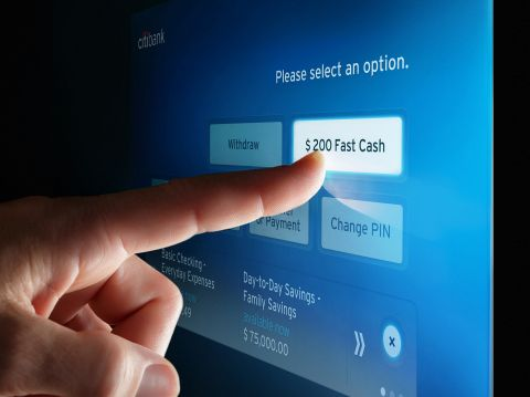 Critical Mass helps Citibank unveil a new, simplified ATM experience across the U.S., including a Quick-Touch Balance Peek feature. (Photo: Business Wire)