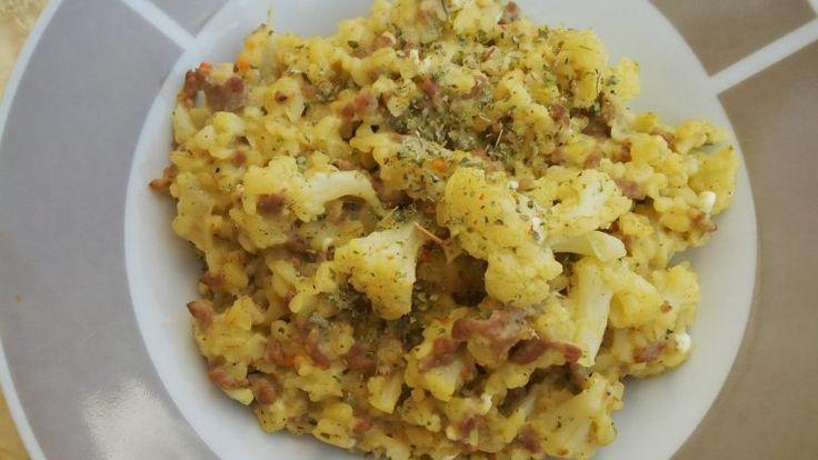 Karfiolos húsos bulgur - FittKonyha