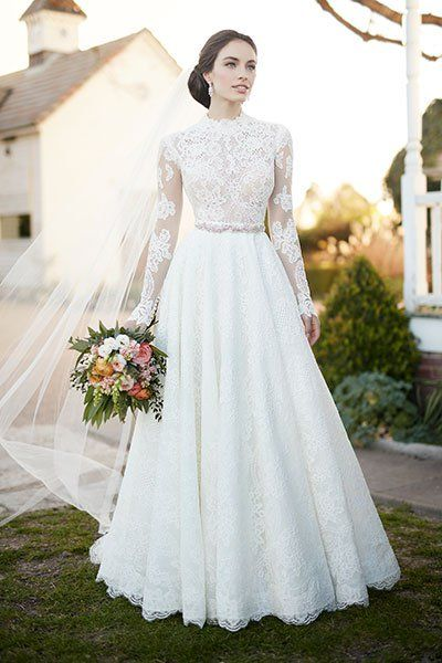 Wedding gown by Martina Liana.Check out more gorgeous dresses in our Martina Liana gown gallery ►