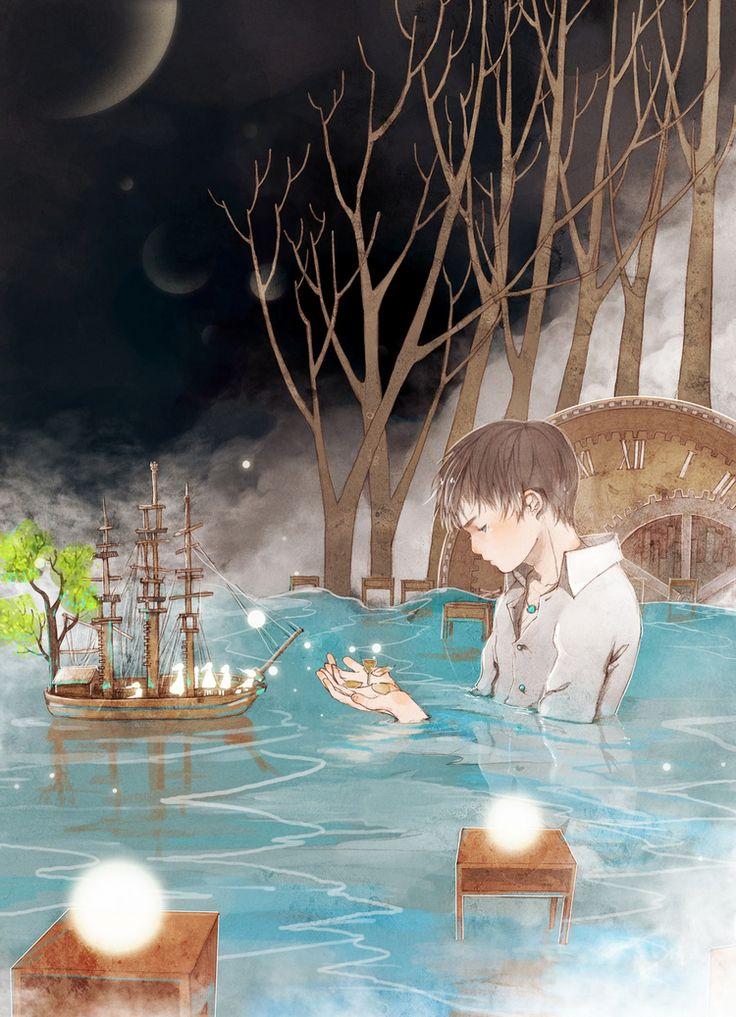消逝-starry阿星__涂鸦王国插画