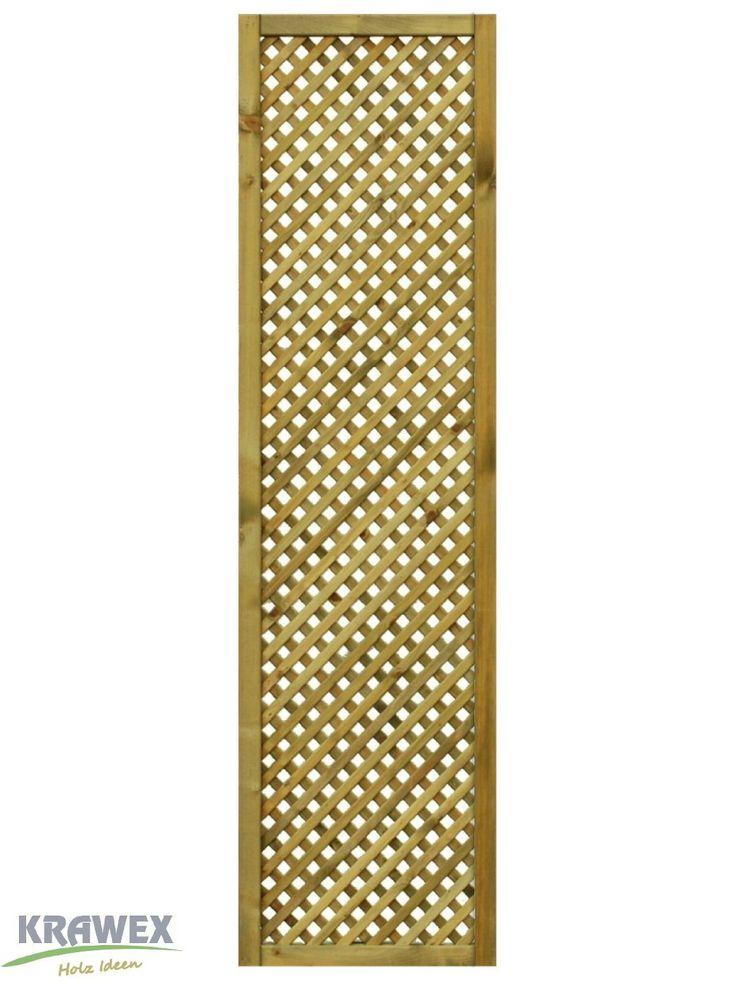 Rankgitter aus Holz Sichtschutzzaun 50x179cm … Amazon.de