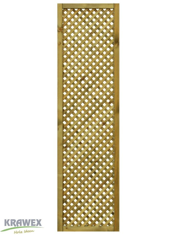 rankgitter aus holz sichtschutzzaun 50x179cm. Black Bedroom Furniture Sets. Home Design Ideas