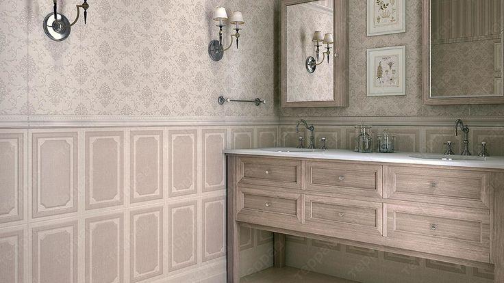 Интерьер ванной Kerama Marazzi - Дарлингтон