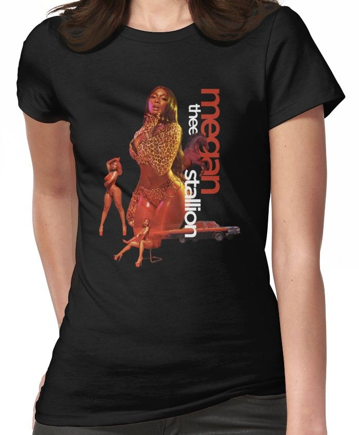 Megan Thee Stallion Shirt Megan Thee Stallion Tshirt Megan Stallion Fan Art Gear T Shirt By Robtaf Gear Art T Shirts For Women Shirt Designs