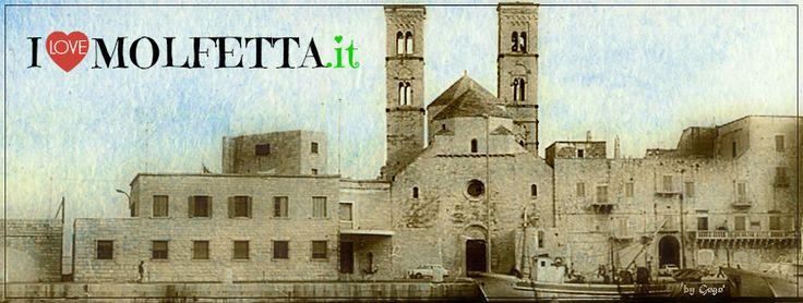 Molfetta turism, old picture, Duomo   visit www.ilovemolfetta.it