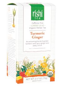 Rishi Tea Organic Turmeric #Ginger #Tea....so many health benefits!